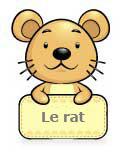 Le Rat - Signs du Zodiaque Chinois