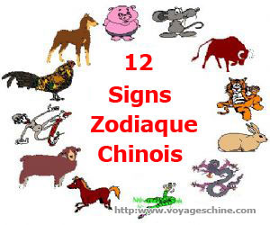 horoscope chinois signe astrologique chinois 12 animaux du zodiaque chinois voyages chine. Black Bedroom Furniture Sets. Home Design Ideas