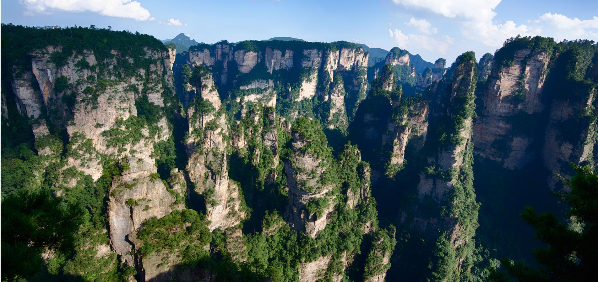 Parc forestier national de Zhangjiajie