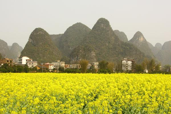 Guilin au printemps