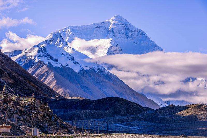 Mont Everest au tibet